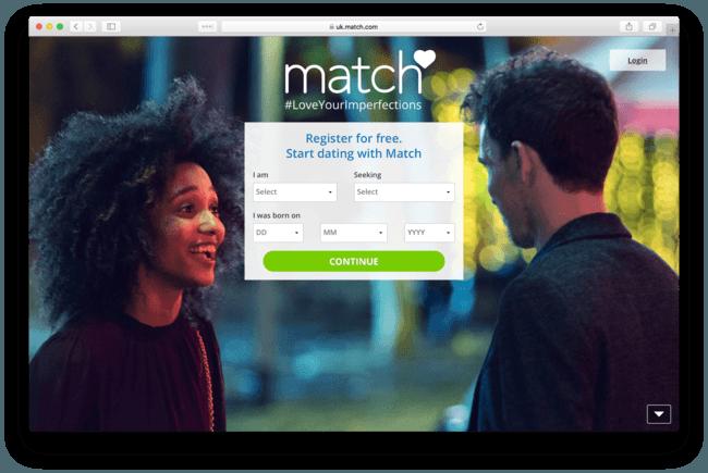 Match com login free